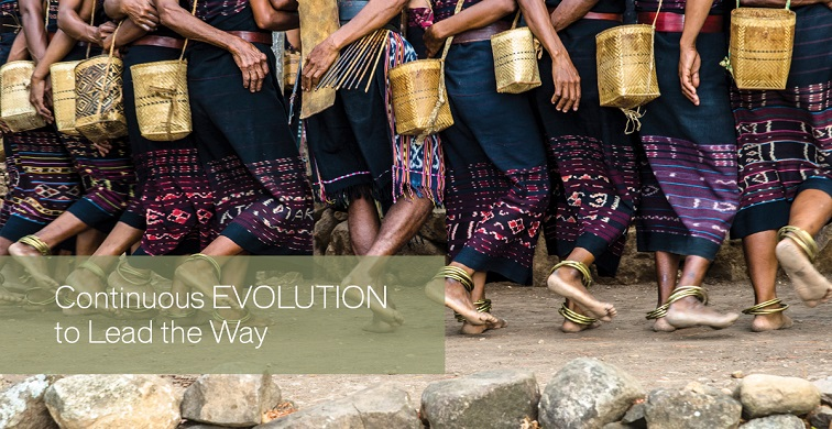 Evolution of lead the way