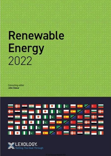 Lexology GTDT Renewable Energy 2022