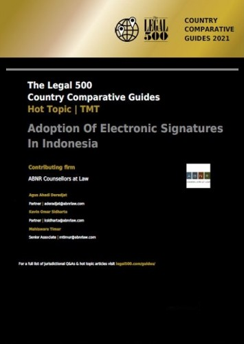 Legal 500: Hot Topic TMT - Adoption of Electronic Signatures in Indonesia