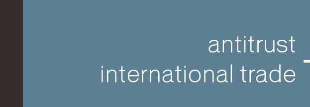 Antitrust & International Trade