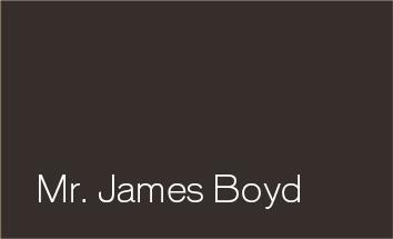 Mr. James Boyd